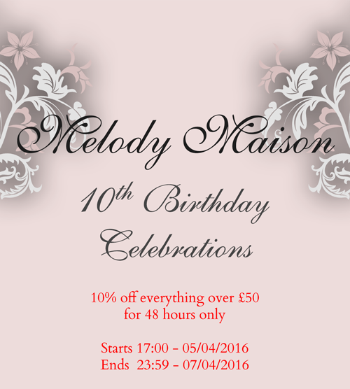 For Melody Maison we currently have 0 coupons and 28 deals. Our users can save with our coupons on average about $ Todays best offer is Up to 65% off Selected Dressing Tables at Melody Maison.