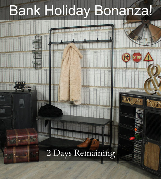 Bank Holiday Bonanza! Spend over £100 & receive a Free Gift Voucher - 2 Days Remain