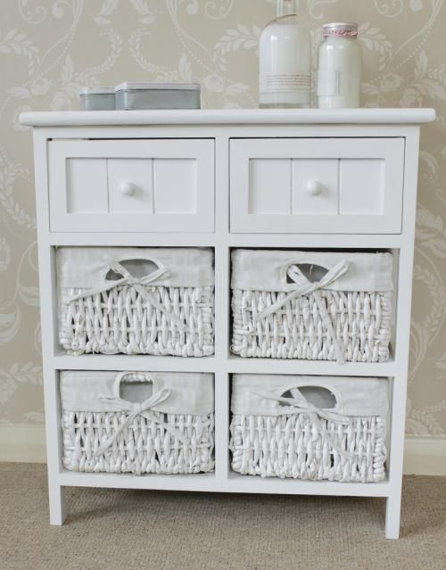 Bathroom Shelf Storage Baskets  Shelving with Storage Baskets by Pangaea Trading  Bathroom Shelves & white wicker shelves bathroom | My Web Value