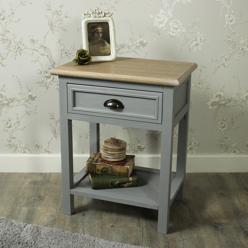 One Drawer Bedside/Lamp Table - Admiral Range