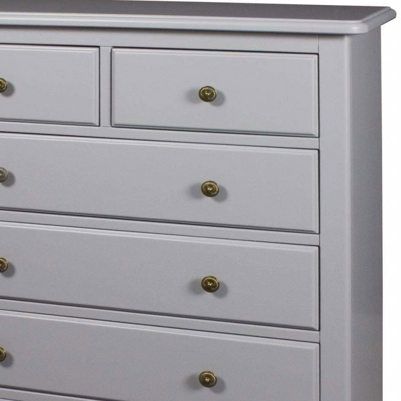 Amelia grey range over chest of drawers melody maison