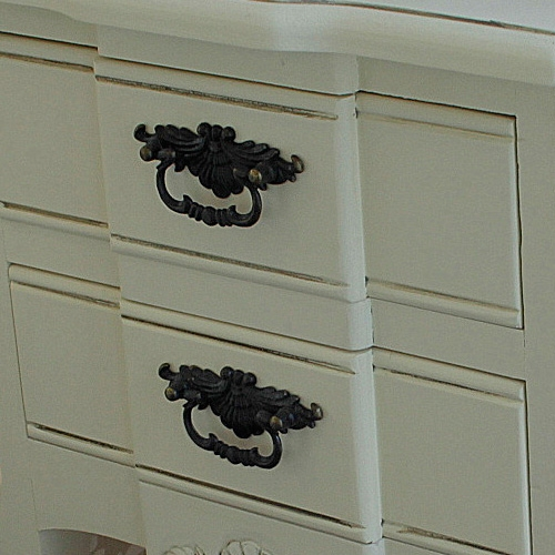Belgravia Range - Cream 2 Drawer Bedside Table