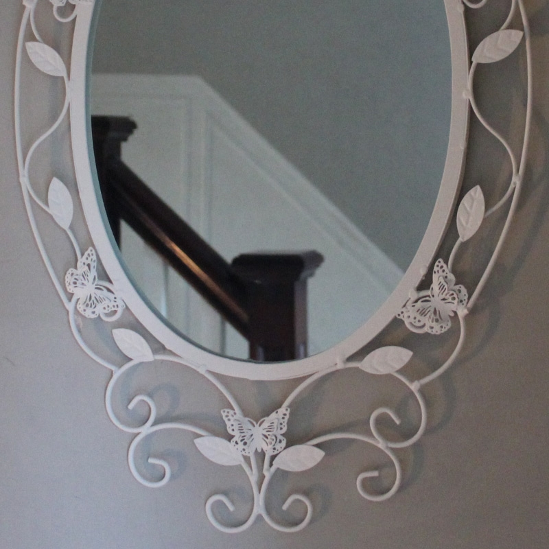 Butterfly Oval Wall Mirror