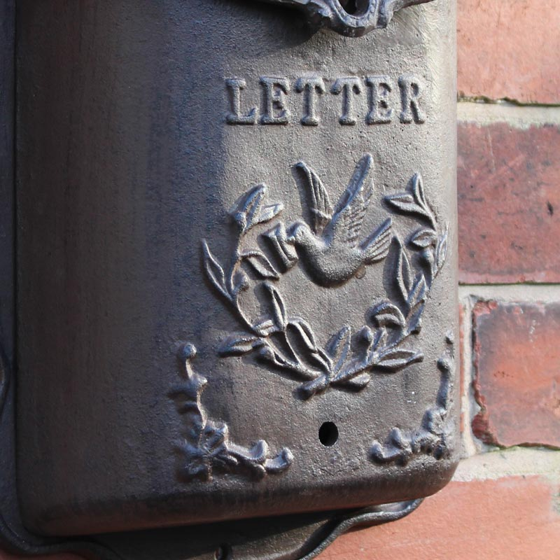 Cast Iron Mail Box