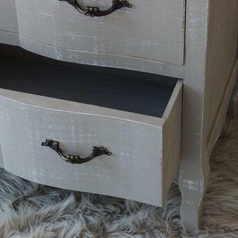 ... Chest Of Drawers   French Grey Range ...