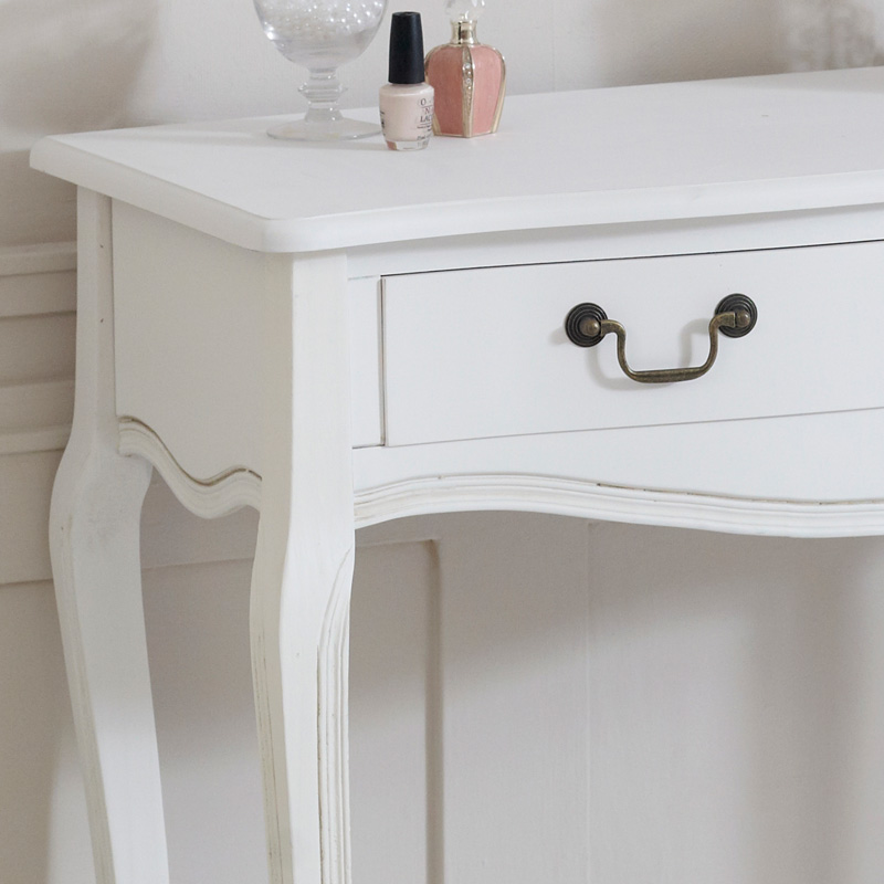 Classic White Range - 2 Drawer Console Table