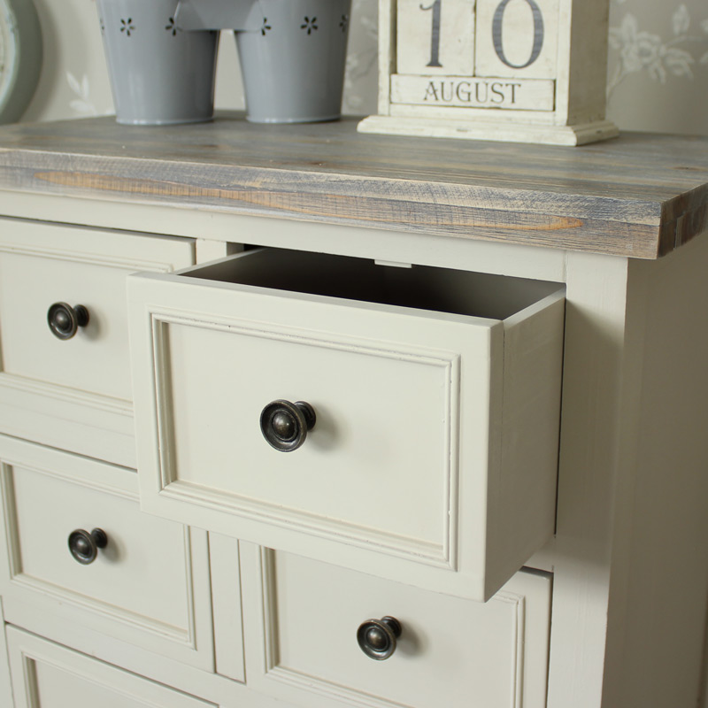 Cotswold Range - 14 Drawer Tall Boy
