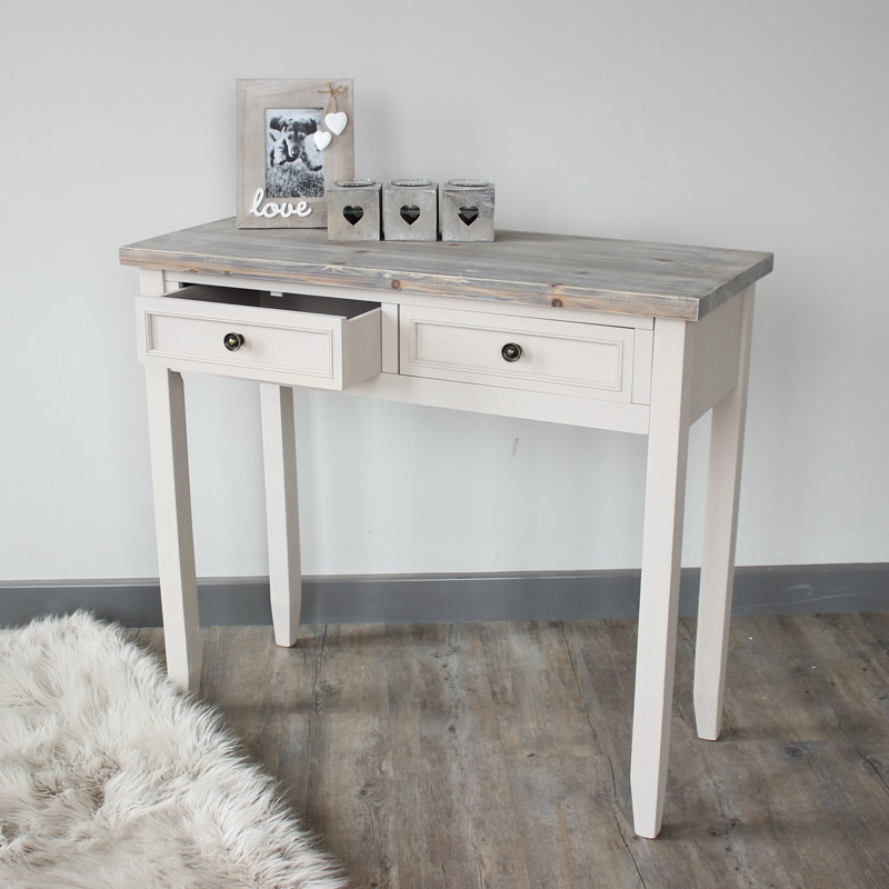 Cotswold Range - 2 Drawer Console Table