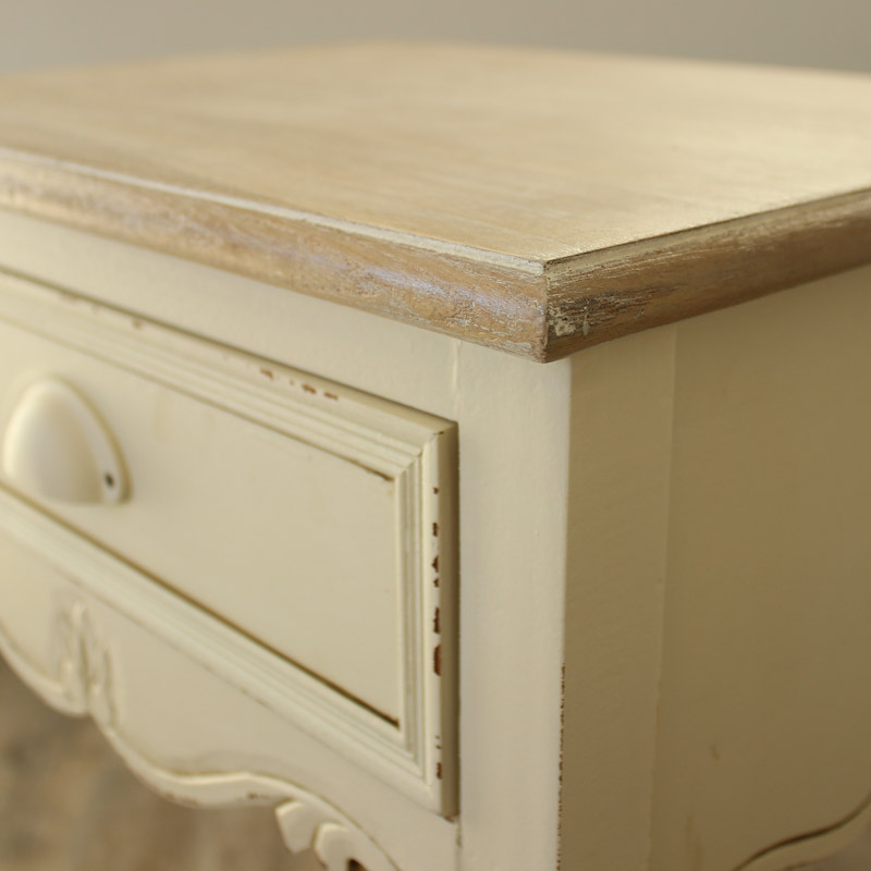 Country Ash Range - 1 drawer Bedside Table