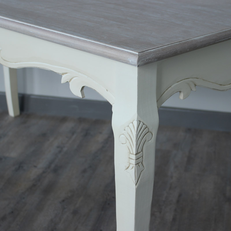 Country Ash Range - Cream Large Dining Table