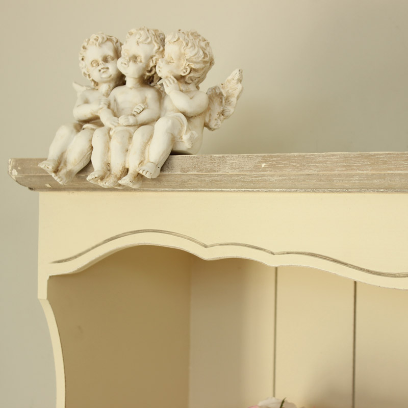 Country Ash Range - Cream Wall Shelf
