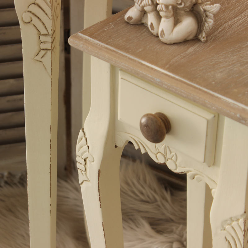 Country Ash Range - Set of 2 Lamp Tables