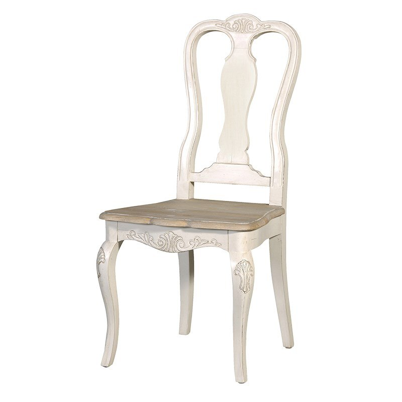 Cream Dining Room Chairs: Cream Ornate Dining Table And 4 Chairs