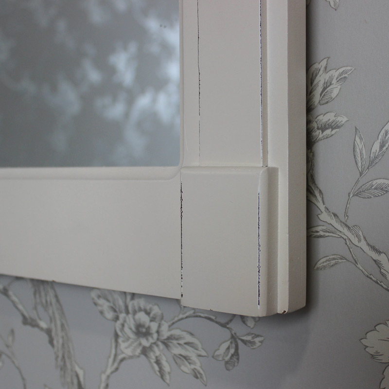 Cream Wall Mirror - Lyon Range