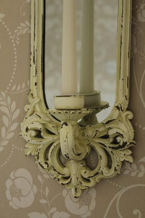Cream Candle Wall Lights : Cream Wall Sconce - Melody Maison