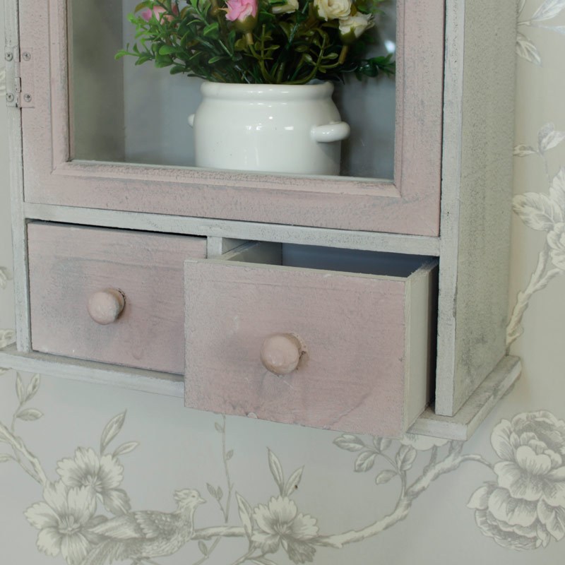 Cream Wooden Wall Cabinet