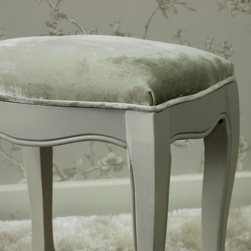 Elise Grey Range - Dressing Table Stool