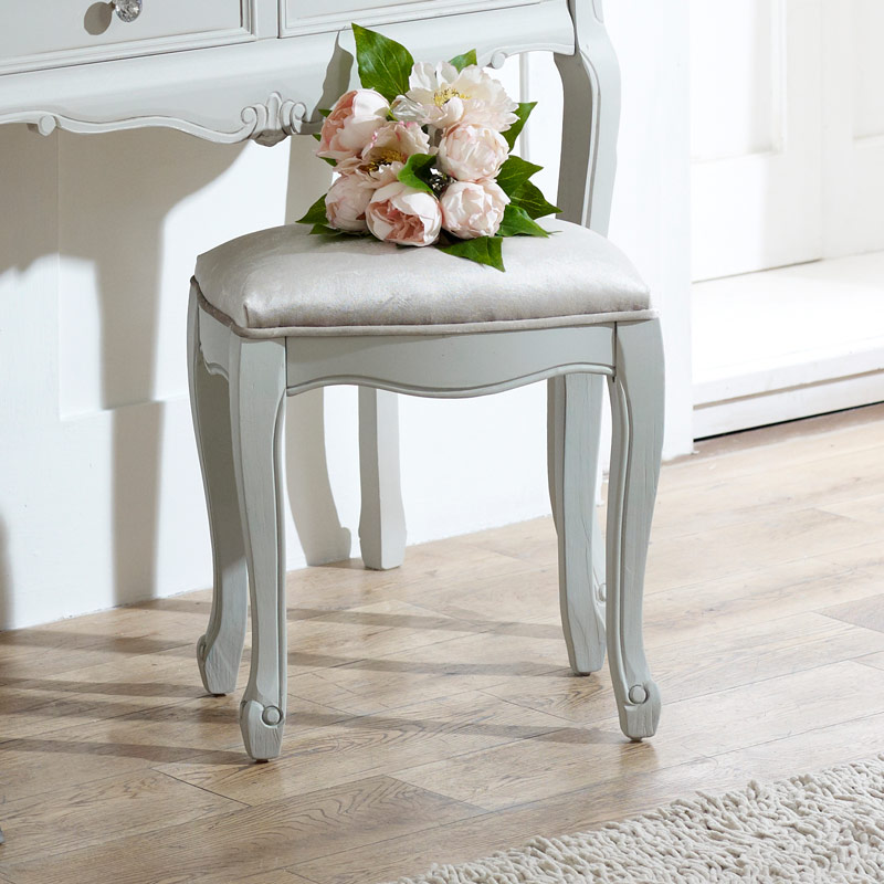 Elise grey range dressing table stool melody maison for Range dressing table