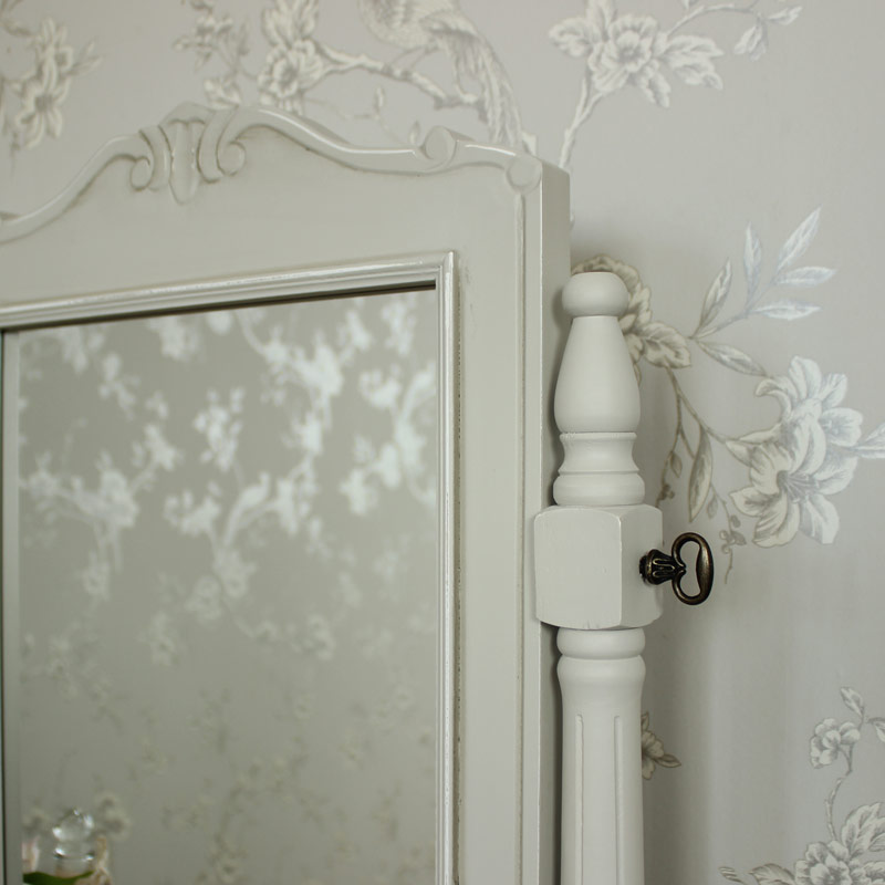 Elise Grey Range - Swing Dressing Table Mirror