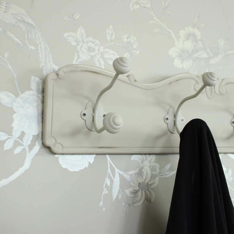 Elise Grey Range - Wall Mounted Hooks