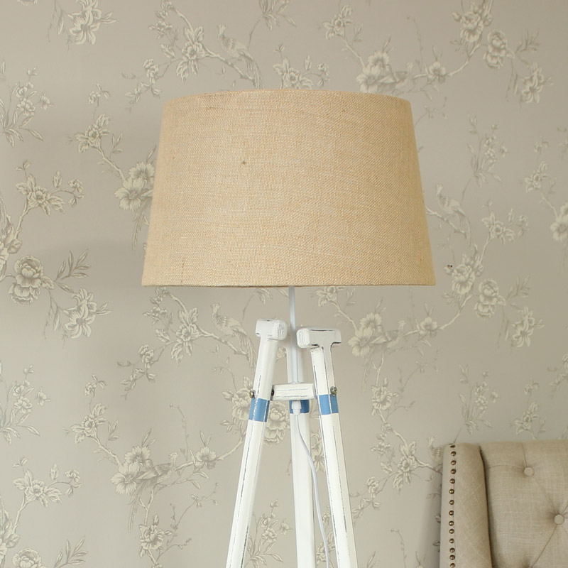 Floor Standing Lamp- Nautical Oar Tripod