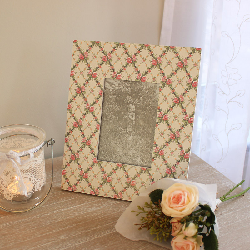 Floral Photograph frame