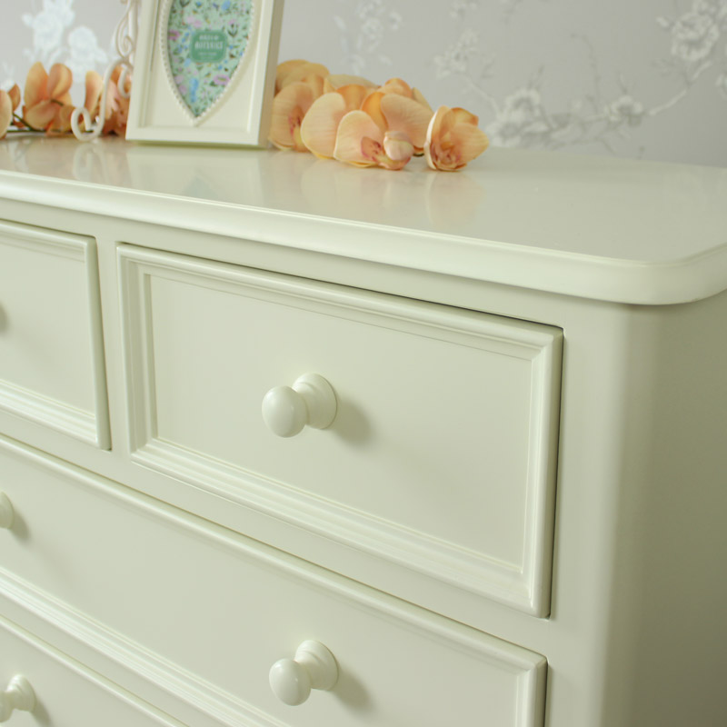 Florence Range - Cream 2 Over 4 Chest