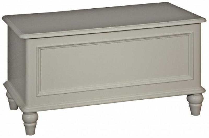 Florence Range - Cream Blanket Storage Box