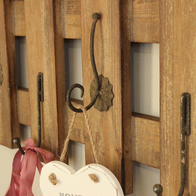 Garden Fence Style Wall Hooks