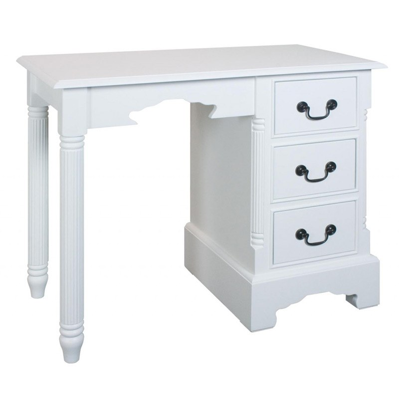 Georgiano range 3 drawer dressing table console melody for Range dressing table