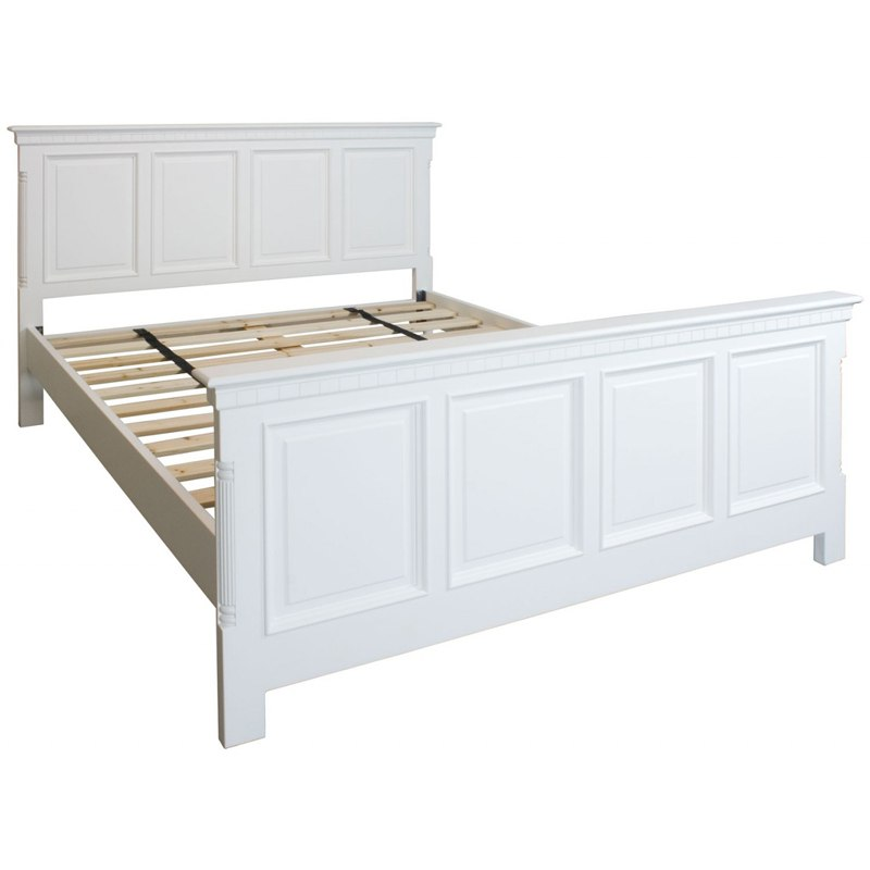 Georgiano Range - White Painted King Size Bed
