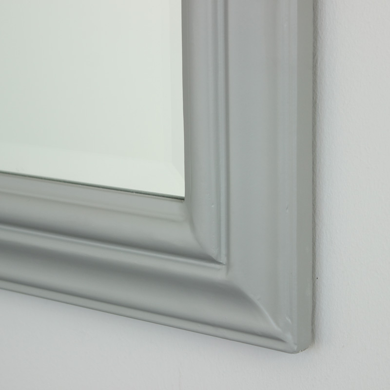 Grey Arched Wall Mirror Melody Maison 174