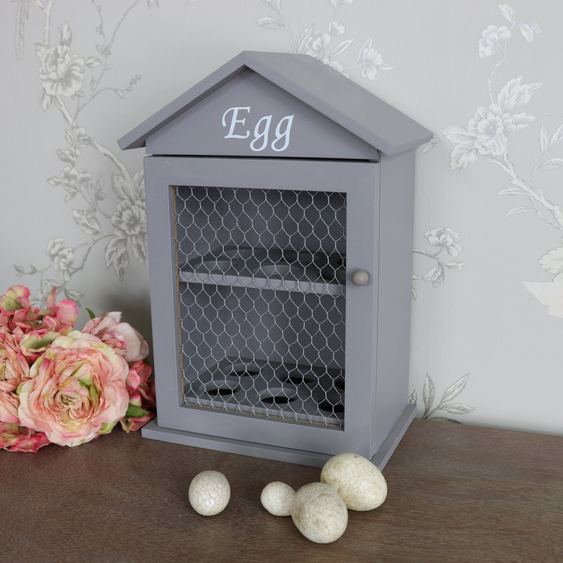 Grey Wooden Egg House Storage Cabinet - Melody Maison®
