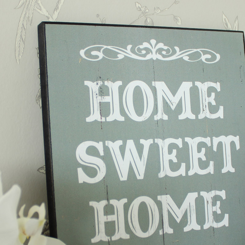 'Home Sweet Home' Wall Plaque