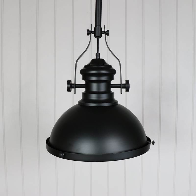 Industrial Black Ceiling Pendant Light Fitting Melody