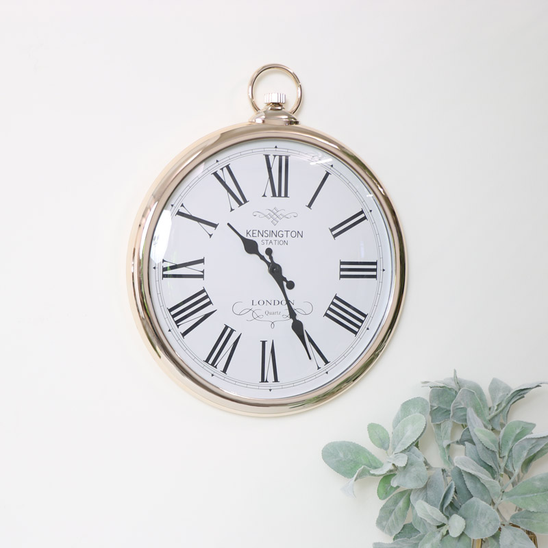 Large Wall Pocket Watch Clocks