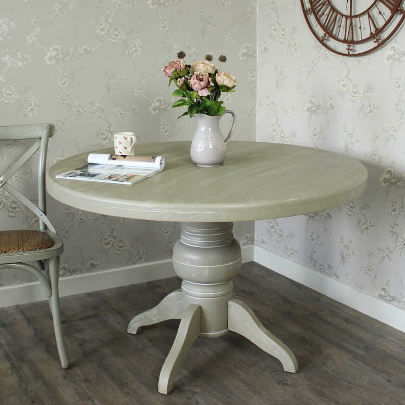 Large Round Dining Table