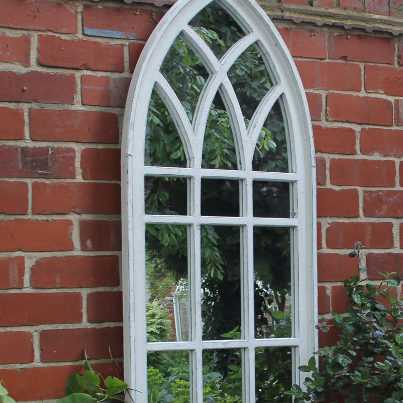 large white arch window mirror melody maison