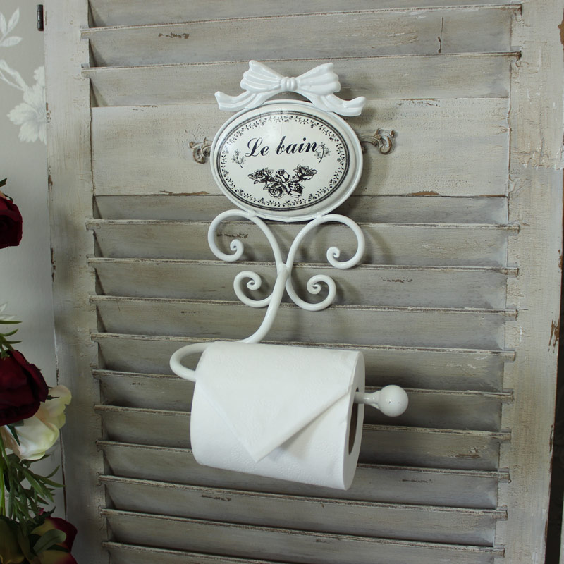 'Le Bain' Toilet Roll Holder