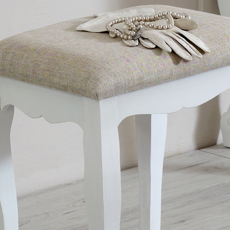 Lila Range - Dressing Table Padded Stool