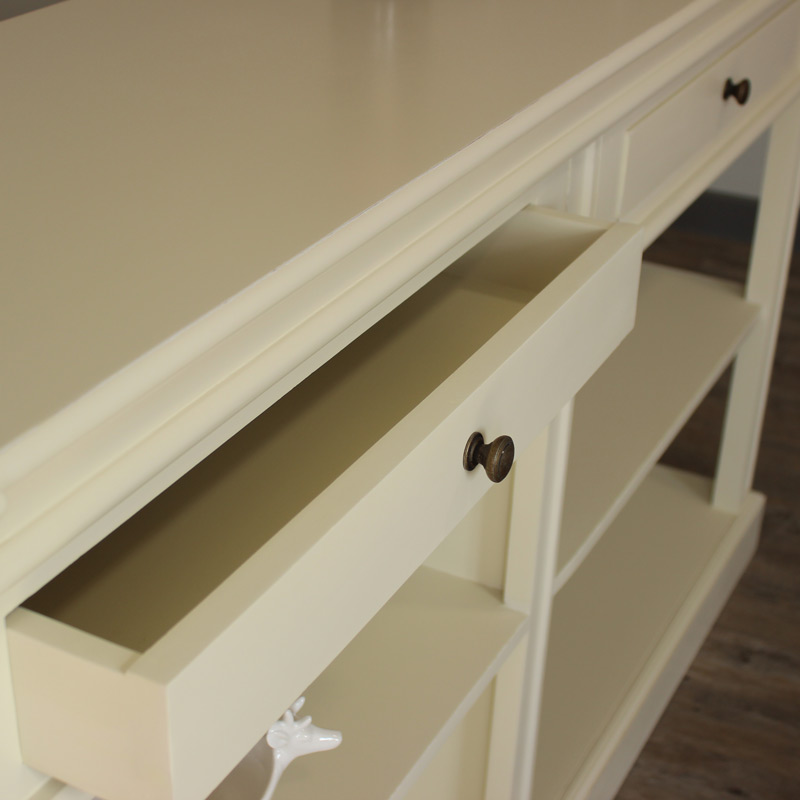 London Range - Cream Buffet Console Table