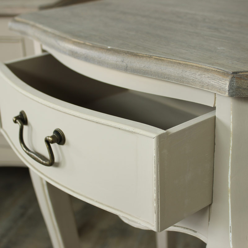 Louisiana Range- 1 Drawer Bedside or Lamp Table