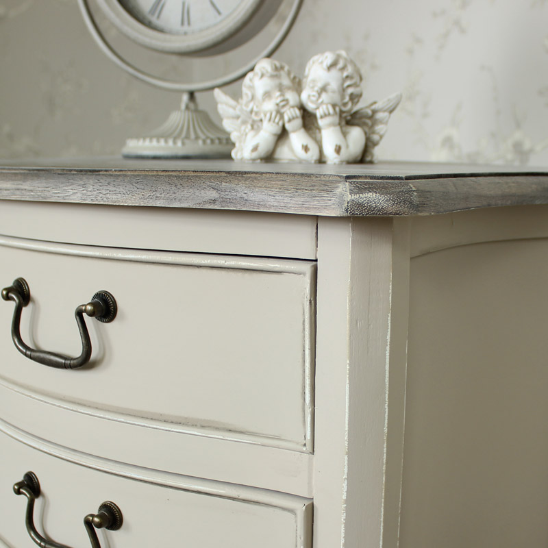 Louisiana Range - 3 Drawer Bedside Chest