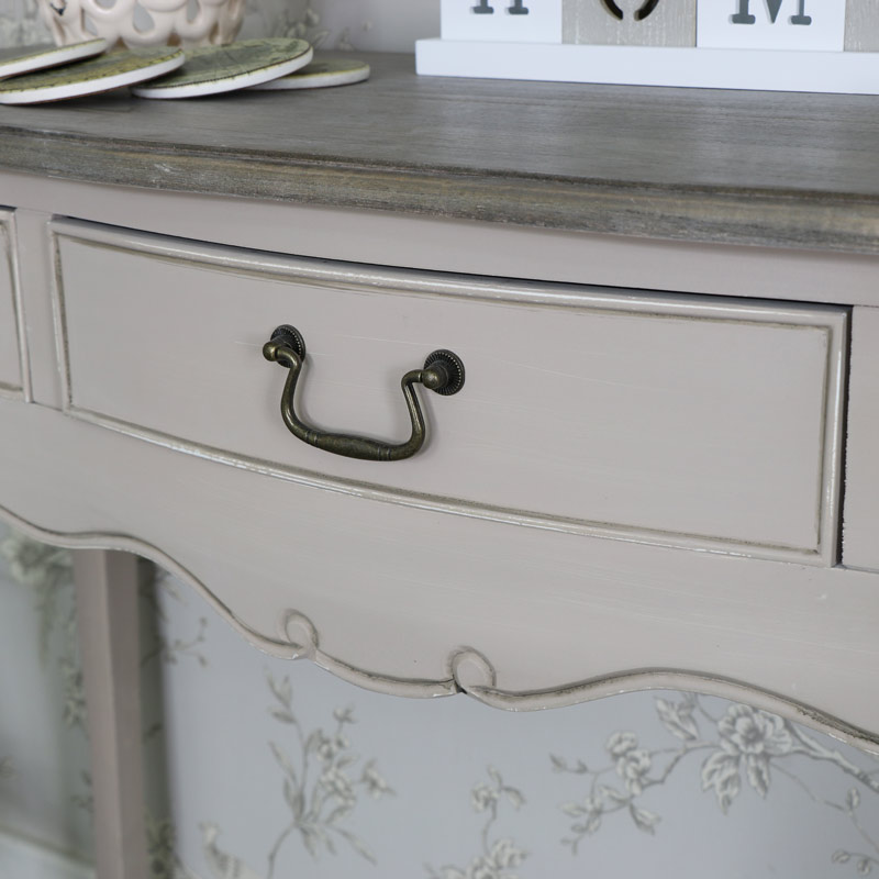 Louisiana Range - 3 Drawer Console/Dressing Table