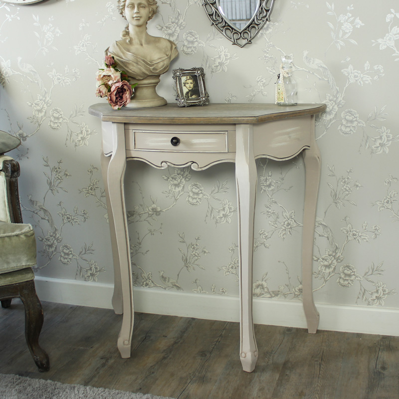 Louisiana Range - Half Moon Hall Table