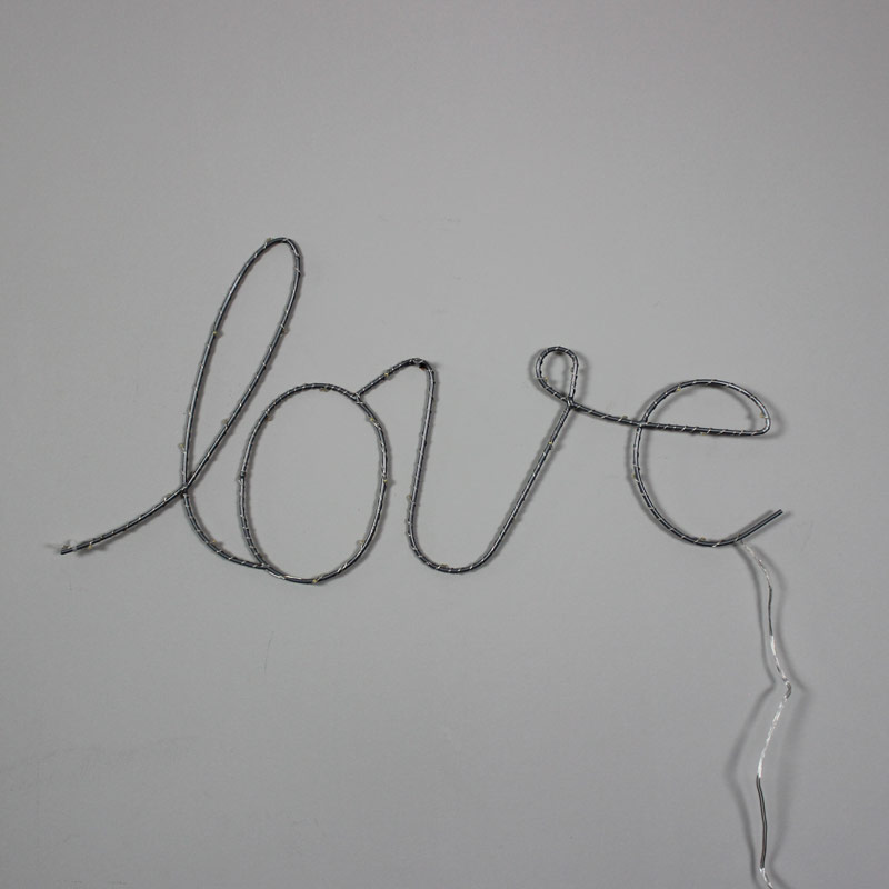 Love word wall light up sign - Melody Maison
