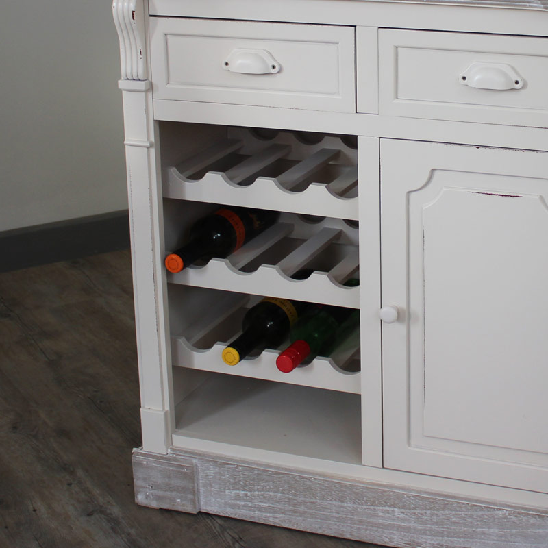 Lyon Range - Kitchen Cabinet With Wine Rack