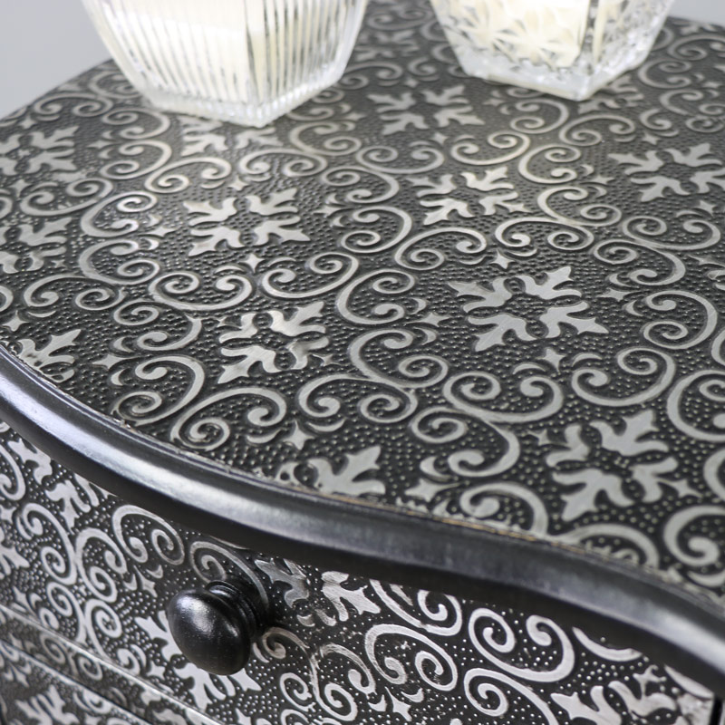 Marrakech Range - Two Drawer Bedside Chest