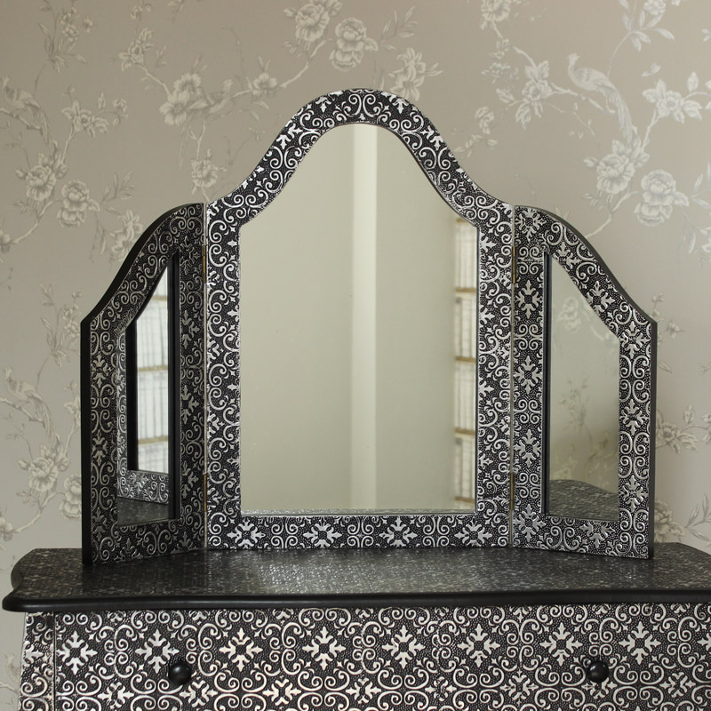 Marrakech Triple Dressing Table Mirror
