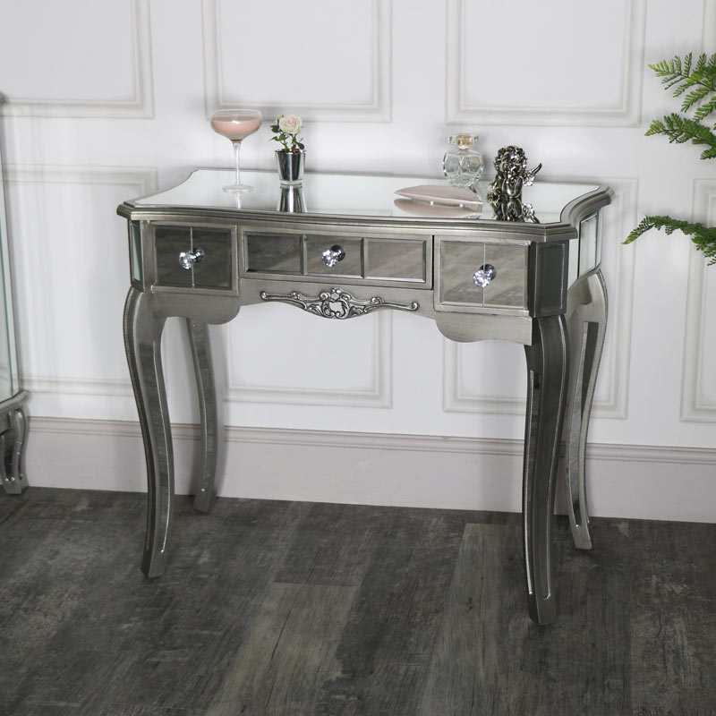 Mirrored Dressing Table - Tiffany Range